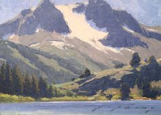 "Jeremy Lipking ""Sierra Snow"" 6″x8″"