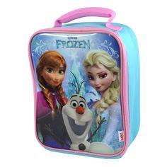 Brand New Licensed Disneys Frozen Slimline Bag  Elsa, Anna & Olaf