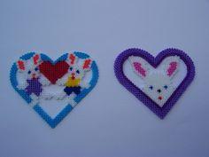 bunnies and hearts