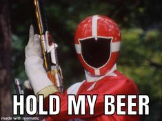 Power Rangers Memes, How To Make Beer, Captain America, Iron Man, Hold On, Superhero, Fictional Characters, Iron Men, Naruto Sad