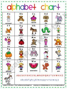 Alphabet Chart. I love this pic, thanks! Check out this post about 2d pop up alphabets. http://tpt-fonts4teachers.blogspot.com/2013/02/abc-2-dimensional-pop-up-alphabet-book.html