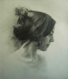 Neda Sajadi (pencil drawing)