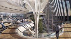 Zaha Hadid Architects divulga proposta para o Sberbank Technopark em Moscou   ArchDaily Brasil