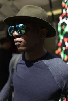 They Are Wearing: London Men's Fashion Week Spring 2015 - Slideshow - WWD.com