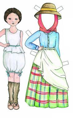 pimpumplay   Bonecas de papel   10 trajes tradicionais
