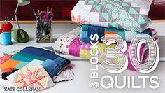 3 Blocks 30 Quilts