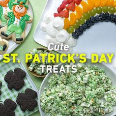 Patrick's Day Treats - Metarnews Sites Tasty Videos, Food Videos, Recipe Videos, Cookie Recipes, Dessert Recipes, Desserts, Holiday Snacks, Holiday Recipes, Starbucks Menu