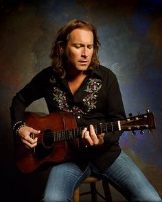 John Corbett ~ I love a man and his guitar, especially a tall hot man!!