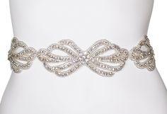 Crystal Bridal Sash Belt   wedding sash  by KirstenKuehnDesigns, $185.00