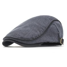 d793499cdbd26 Men Unisex Cotton Blend Beret Hat Casual Breathable Flat Cap Ivy Gatsby  Newsboy Hunting Hat
