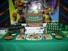 Teenage Mutant Ninja Turtles Birthday Party Ideas   Photo 1 of 39   Catch My Party
