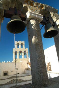 Bells at Monastery at Patmos - Patmos, Dodekanisos