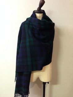 Glen Prince Black watch tartan stole