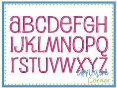 """PUPPY TAILS : monograms, names, words up to 6""""  (AC1016)"""