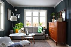 Retro, living room, brass, gold, blue, green, teak Outdoor Furniture Sets, Outdoor Decor, Teak, Blue Green, Brass, Living Room, Retro, Gold, Home Decor