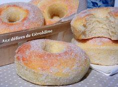 Aux délices de Géraldine: Beignet au four - Très bonne recette, je l'ai testé et mes beignets sont très réussis !