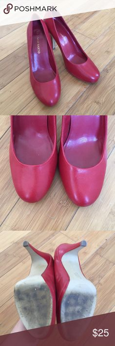 bbaa68513a9 Franco Sarto Red Pumps (Re-Posh) These are beautiful pumps! They