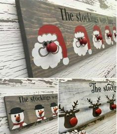 christmas crafts to sell Christmas stocking hangers Wooden Christmas Decorations, Christmas Wood Crafts, Christmas Projects, Holiday Crafts, Christmas Christmas, Winter Wood Crafts, Christmas Crafts To Make And Sell, Pallet Christmas, Pallet Holiday Ideas