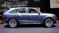 The head turner / head scratcher: Bentley EXP 9 F
