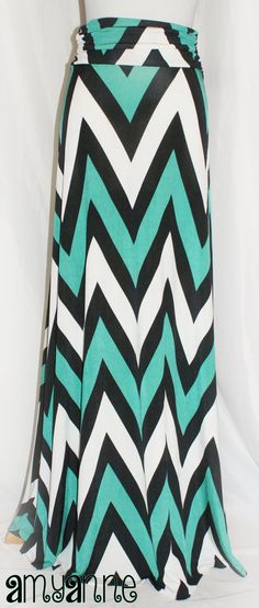 Ready to Ship Jade Green Black and White Big by AmyAnneApparel