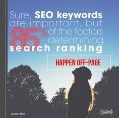 Southerly meme - SEO keywords are important but biggest factors are off-page