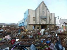 Tacloban Seventh-day Adventist Church stood tall amidst the storm