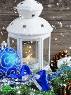 GIFS HERMOSOS: cosas navideñas encontradas en la web Animated Christmas Tree, Christmas Time, Merry Christmas, Gifs, Winter, Snow Globes, Animation, Diana, Bb