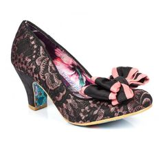 Irregular Choice Mr. & Mrs. Heels Gold from Dolls Kill