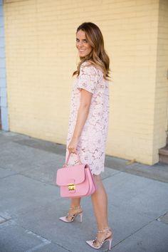 Pale Pink Lace