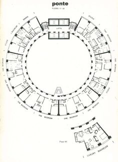 Ponte PLan. Surce: Planning & Building Developments, 17, November/December 1975, p. 19