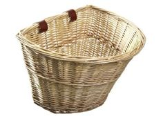 Amazon.com: ProSource Wicker Front Handlebar Bike Basket