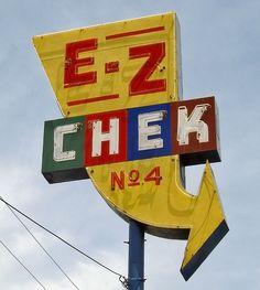 E-Z Chek No.4, via Flickr.