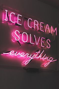 Collage Mural, Bedroom Wall Collage, Photo Wall Collage, Picture Wall, Ice Cream Pictures, Ice Cream Images, Neon Aesthetic, Aesthetic Collage, Pink Tumblr Aesthetic