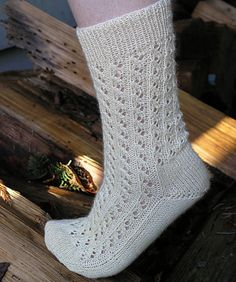 Ravelry: Lace Rib Toe-UP Socks by Debbi Young and Irene Alston