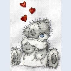 Me To You - Tatty Teddy - Teddy Hugs - counted cross stitch kit Coats Crafts