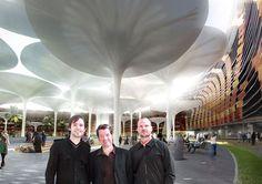 Masdar Eco City Center , Abu Dhabi, 2016 - LAVA - Laboratory for Visionary Architecture, chris bosse, Tobias Wallisser