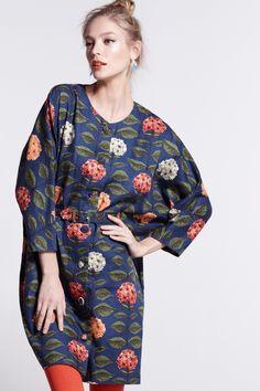 Fleur's Hydrangea Dress - Anthropologie.com