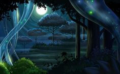 Video Game Background Art by Derek McCaughan, via Behance