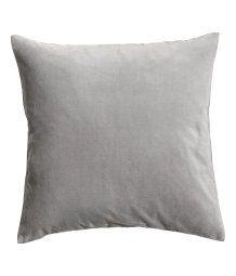 Velvet Cushion Cover | Gray | Home | H&M US