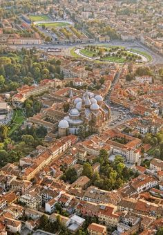 ✭ Flying over Padova, Italy