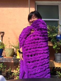 Chunky Blanket, Fall Season, Baby Blankets, Crochet, Fashion, Long Scarf, Autumn, Moda, Fashion Styles