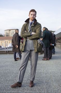 Barbour Suit