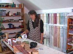 Linda Hendrickson demonstrates making cords