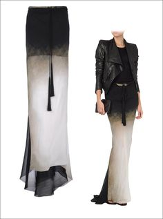 ann demeulemeester     most amazing skirt, please come live on my body