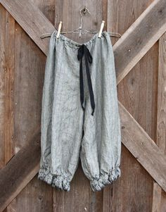 linen bloomer knicker britches girlie pantaloon  par linenclothing, $120.00