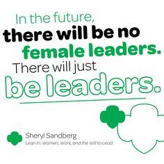 #SundayInspiration courtesy of Sheryl Sandberg.