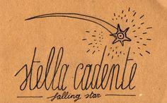 'Falling Star' in Italian Italian Quote Tattoos, Italian Quotes, Italian Phrases, Italian Words, Italian Side, Italian Proverbs, Learn To Speak Italian, Italian Vocabulary, Italian Lessons