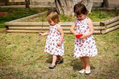 kojotutorial: belted cheery cherry dresses | kojodesigns