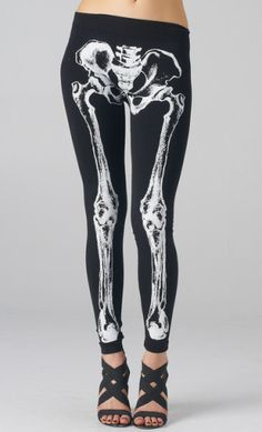 Ready for Halloween? Skeleton Leggings now on sale!!! WWW.SHOPPUBLIK.COM