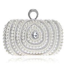 bettyhome Women s Clutch Weave Bag Knit Wedding Party Prom Handbag Cocktail Evening  Purse  7e40034fce53e
